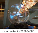 a science electric ball | Shutterstock . vector #757806388