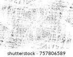 grunge black and white seamless ... | Shutterstock . vector #757806589