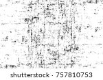 grunge black and white seamless ... | Shutterstock . vector #757810753