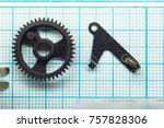 parts are completely... | Shutterstock . vector #757828306