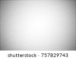 abstract grunge halftone dots... | Shutterstock .eps vector #757829743