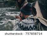 we must capture this  young... | Shutterstock . vector #757858714