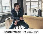 too good to be real. good... | Shutterstock . vector #757863454