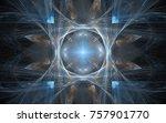 central design series. backdrop ... | Shutterstock . vector #757901770