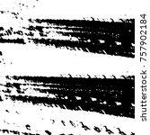black and white grunge... | Shutterstock .eps vector #757902184