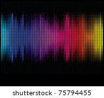 multicolor abstract lights... | Shutterstock .eps vector #75794455
