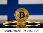 physical version of bitcoin ... | Shutterstock . vector #757953214