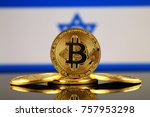physical version of bitcoin ... | Shutterstock . vector #757953298