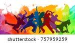 detailed illustration... | Shutterstock . vector #757959259