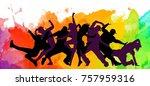detailed illustration... | Shutterstock . vector #757959316
