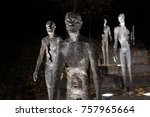 memorial to the victims of...   Shutterstock . vector #757965664