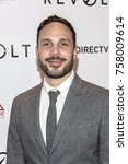 """Small photo of Los Angeles, CA USA - October 22, 2017: Joe Miale attends Vertical Entertainment """"Revolt"""" LA Premiere at iPic Theater"""