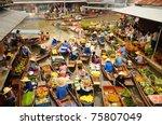 bangkok    april 13  wooden...   Shutterstock . vector #75807049