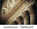 new york city   sep 5  new york ... | Shutterstock . vector #758081659