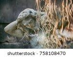 Detail Of The Amenano Fountain...