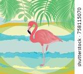 Flamingo Pink   Abstract...