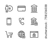 commerce thin line icon. icons...