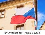 Waving Czech Republic Flag In...