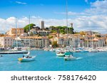 cannes  france   september 18 ... | Shutterstock . vector #758176420