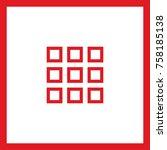 menu catalog line vector icon