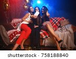 party  technology  nightlife... | Shutterstock . vector #758188840