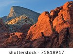 Rocky Desert Landscape At...