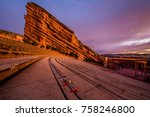 Benches at red rocks...