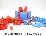hong kong  nov 11  lego... | Shutterstock . vector #758274883