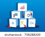 commercial product development | Shutterstock .eps vector #758288200