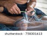 Repair Traditional Fishing Nets.