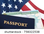 united states of america... | Shutterstock . vector #758322538