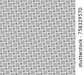 geometric seamless pattern.... | Shutterstock .eps vector #758329570
