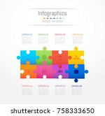 infographic design elements for ...   Shutterstock .eps vector #758333650