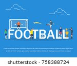 vector illustration of young... | Shutterstock .eps vector #758388724