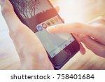 bangkok  thailand   november 20 ... | Shutterstock . vector #758401684