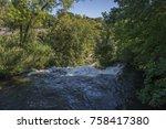 minnehaha waterfall in... | Shutterstock . vector #758417380