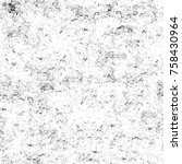 grunge black and white seamless ... | Shutterstock . vector #758430964