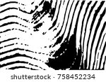 distressed halftone grunge... | Shutterstock .eps vector #758452234