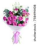 Bouquet Of Fresh Beautiful Pin...