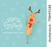 Christmas Character Deer...