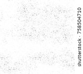 grunge black and white seamless ... | Shutterstock . vector #758504710