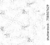 grunge black and white seamless ...   Shutterstock . vector #758507629
