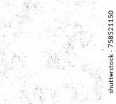 grunge black and white seamless ... | Shutterstock . vector #758521150