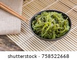 Wakame Seaweed Salad In A...