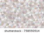 abstract retro pattern of... | Shutterstock .eps vector #758550514