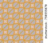 conceptual seamless pattern...   Shutterstock .eps vector #758555878