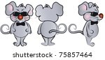 mouse agent bond is depicted in ... | Shutterstock .eps vector #75857464
