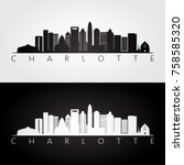 Charlotte Usa Skyline And...