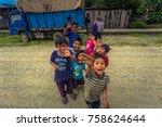 manu national park  peru  ... | Shutterstock . vector #758624644
