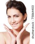 beauty  wellness  healthcare ... | Shutterstock . vector #75864403